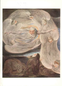 """The Lord Answering Job Out of the Whirlwind"" by William Blake"