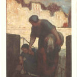 """The Laundress"" by Daumier"