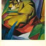 """Tiger"" by Franz Marc"