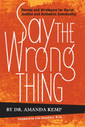 """Say the Wrong Thing"" book cover"