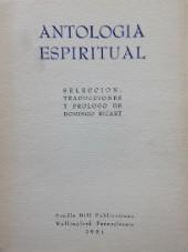 Antologia Espiritual