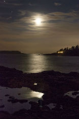 """Moon, Newbury Point, ME"" (Terry Foss)"