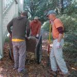 woodchip trail replenishment