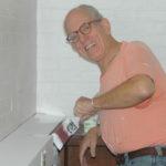 woodworking volunteer Tom Jenik