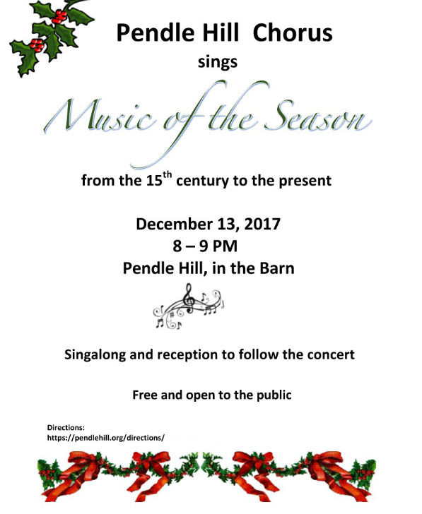 """Music of the Season"" poster"
