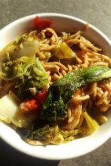 Vegan Bok Choy Stir Fry