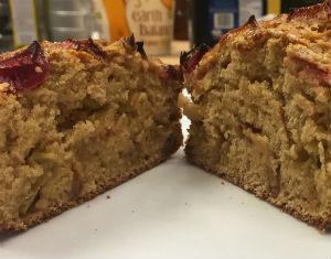Lisanne's rhubarb cake