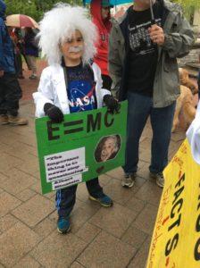 """Art in the Science March"" (c) Jennifer Elam"