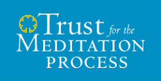 """Trust for the Meditation Process"" logo"