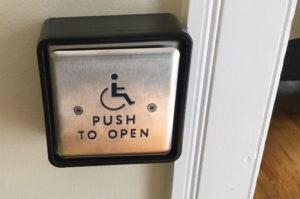 Waysmeet push-button door opener