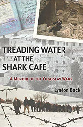 """Treading Water at the Shark Cafe"" book cover"