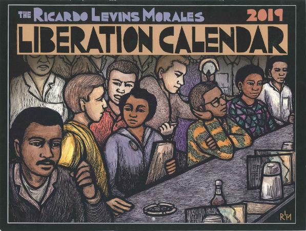 Liberation Calendar 2019 (c) RLM - front